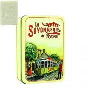 L.S.N.32505 Gyapotvirág szappan 200gr,shea vajjal és oliva olajjal,fémdobozban