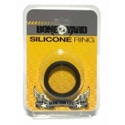 Boneyard Silicone Stretch Cock Ring Black BY0130