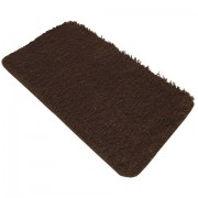 Decoracao Home Decor Tapete Avulso Jolitex -Realce Liso Chocolate
