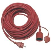 REV extension IP44 25m red