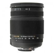 Sigma 18-250mm f3.5-6.3 OS HSM DC Objektiv für Nikon Schwarz