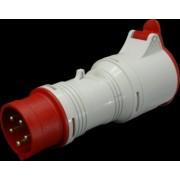 Adaptor de la stecher industrial 5 X 16A la priza industriala 4 X 16A A 1653/43 SEZ