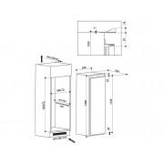 Ariston Frigorífico 1 puerta Integrable HOTPOINT SB 1801 AA