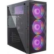 PC Gaming Diaxxa Smart i5-10600K 4.1GHz 1TB HDD+SSD 240GB 8GB DDR4 Radeon RX 5500 XT OC 8GB GDDR6 Bonus Q3'20 AMD Radeon Raise + Bundle Gaming Intel Marvel's