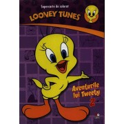 Looney Tunes. Aventurile lui Tweety 2. Supercarte de colorat