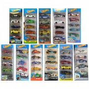 Mattel Set Macchinine Mattel Hot Wheels Modelli Casuali
