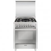 Glem Gas M765vic Cucina 70x60 5 Fuochi A Gas Forno A Gas Ventilato Con Grill Ele