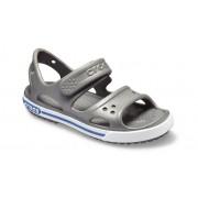 Crocs Preschool Crocband™ II Sandalen Kinder Slate Grey/Blue Jean 34