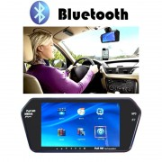 "Oglinda Retrovizoare Auto cu Display 7"" si Bluetooth"