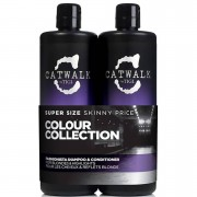 TIGI Duo soins cheveux blonds TIGI Catwalk Fashionista Violet Tween