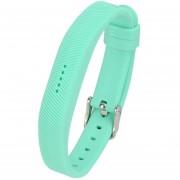 Correa De Reloj De Pulsera Inteligente De Silicona Para Fitbit Flex 2-Verde