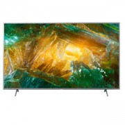 Телевизор Sony KD-43XH8077 43 4K HDR TV BRAVIA ,Edge LED with Frame dimming, 4K HDR Processor X1,Triluminos, XR 400Hz ,Dolby Atmos ,DVB-C / DVB-T/T2 / DVB-S/S2, USB, Android TV, Voice Remote, Silver, KD43XH8077SAEP
