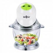 Чопър/Зеленчукорезачка SAPIR SP 1111 N, 400 W, 1 литър, 2 скорости, Бял