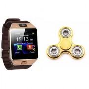 Mirza DZ09 Smart Watch and Fidget Spinner for LG OPTIMUS L5 II(DZ09 Smart Watch With 4G Sim Card Memory Card  Fidget Spinner)