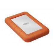 DD EXTERNO LACIE RUGGED MINI 4TB 2.5 USB 3.0 CONTRAGOLPES, AGUA Y POLVO IP67 NARANJA/BLANCO WINDOWS/MAC