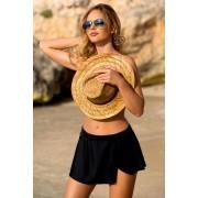 Leyla Black strandszoknya fekete 48