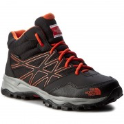 Trekkings THE NORTH FACE - Jr Hedgehog Hiker Mid Wp T0CJ8QNMY Tnf Black/Mandarin Red