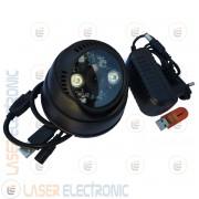 Telecamera Videosorveglianza Dome da Interno HD 1280x720 con LED Infrarossi e DVR integrato
