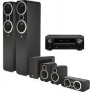 Pachete PROMO SURROUND - Q Acoustics - 3050i pachet 5.1 + Denon AVR-X2600H Carbon Black