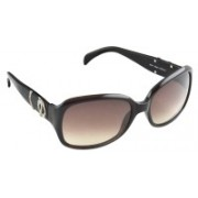 Tommy Hilfiger Rectangular Sunglasses(Brown)
