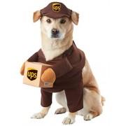 CALIFORNIA COSTUME COLLECTIONS PET20151 UPS Pal Dog Costume, Medium