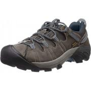 KEEN Targhee II Zapatillas de Senderismo para Hombre, Gargoyle/Azul Marino Midnight, 9 US