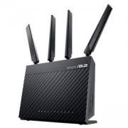 Рутер ASUS 4G-AC68U, 2.4 GHz / 5 GHz, 600 Mbps/1300 Mbps, 128 MB Flash/256 MB RAM, ASUS 4G-AC68U