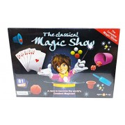 Art Box The Magical Show Tricks Kit for Learning and Doing Magic Tricks by Everyone. Be a Magician by 81 Tricks