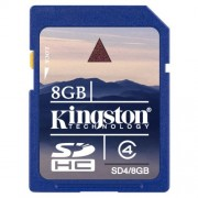 Memorijska kartica SD SD4/8GB KINGSTON