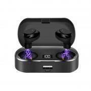 X36 Portable TWS IPX5 Waterproof Digital Display Bluetooth 5.0 Wireless Sports Headsets
