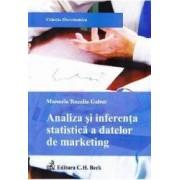 Analiza si inferenta statistica a datelor de marketing - Manuela Rozalia Gabor