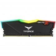 Memoria RAM DDR4 8GB 3000Mhz TEAMGROUP T-FORCE DELTA RGB TF3D48G3000HC16C01