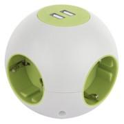 REV Powerglobe with USB white green