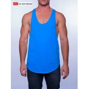Go Softwear Cal. Guy Muscle Tank Top T Shirt Scuba Blue 4645A