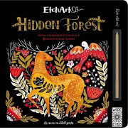 Etchart: Hidden Forest: Reveal the Wonders of the Wild in 9 Amazing Etchart Scenes, Hardcover/Aj Wood