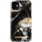 iDeal Of Sweden Fashion Case iPhone 11 - Black Galaxy Marble