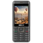 "Telefon Mobil MaxCom MM236, Ecran 2.8"", Dual Sim, 2G (Negru/Auriu) + Cartela SIM Orange PrePay, 6 euro credit, 6 GB internet 4G, 2,000 minute nationale si internationale fix sau SMS nationale din care 300 minute/SMS internationale mobil UE"
