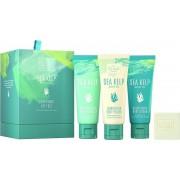 Bad cadeauset Scottish Fine Soaps Sea Kelp Marine Spa Luxurious Gift Set, 1 verwenpakket moeder of voor jezelf
