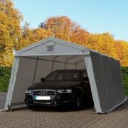 taltpartner.se Garagetält 3,3x6,0m PVC 500 g/m² grå vattentät