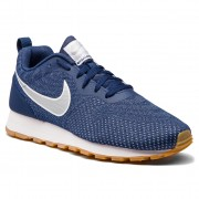 Обувки NIKE - Md Runner 2 Eng Mesh 916774 402 Midnight Navy/Metallic Silver