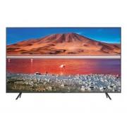 Televizor LED Samsung 58TU7102, 147 cm, 4K UHD, PQI 2000, Dolby Digital Plus, Procesor Crystal 4K, Smart TV, Wi-Fi, Bluetooth, CI+, Clasa energetica A+, Carbon silver