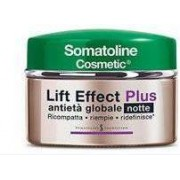 L.Manetti-H.Roberts & C. Spa Somatoline Cosmetic Lift Effect Plus Crema Anti-Età Globale Notte - Pelle Matura Vaso Da 50 Ml