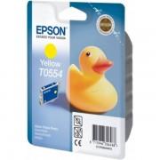 Epson Originale Stylus Photo RX 420 Cartuccia stampante (T0554 / C 13 T 05544010) giallo, 290 pagine, 3.99 cent per pagina, Contenuto: 8 ml