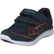 Bagheera Player Navy/Orange, Skor, Sneakers och Träningsskor, Walkingskor, Blå, Barn, 26