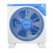 Настолен вентилатор бокс Esperansa ES 1760 BA12, 3 степени на скоростта, таймер 60 мин, 40W, бял/син