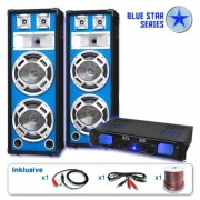 Electronic-Star PA комплект BLUE STAR серии 'BASS VETERAN' 1600 W (BS-Bassveteran)