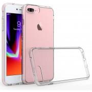 Funda Case Para Iphone 7 Plus / IPhone 8 Plus Transparente Con Bumper Reforzado-Transparente