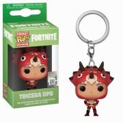 Pop! Keychain Fortnite Tricera Ops Pop! Keychain