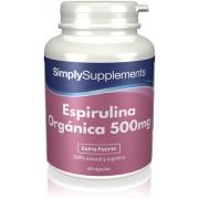 Simply Supplements Espirulina 500mg - 60 Comprimidos