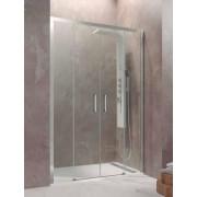 Mampara de ducha Aktual Spazio 02 fijos y 02 hojas correderas